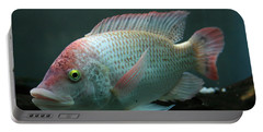 Blushing Tilapia Portable Battery Charger