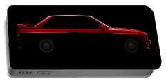Bmw M3 E30 - Side View Portable Battery Charger