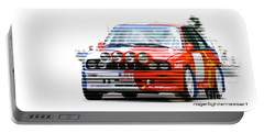 Bmw M3 Group A Portable Battery Charger by Roger Lighterness