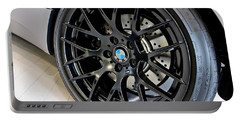 Portable Battery Charger featuring the photograph Bmw M3 Wheel by Aaron Berg