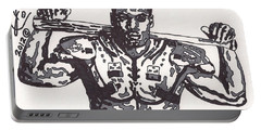 Bo Jackson The Ball Player Portable Battery Charger