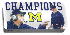 Bo Schembechler Portable Battery Charger