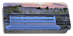 A Welcome Invitation -  The Boardwalk Bench Portable Battery Charger
