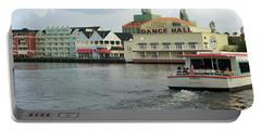 Boardwalk Boat Ride Walt Disney World Mp Portable Battery Charger