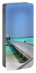 Boardwalk In Paradise Portable Battery Charger