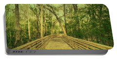 Portable Battery Charger featuring the photograph Boardwalk by Lewis Mann