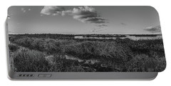 Boardwalk Panorama Monochrome Portable Battery Charger