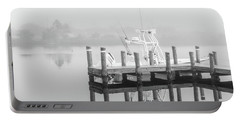 Portable Battery Charger featuring the photograph Boat In The Sounds Alabama  by John McGraw