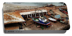 Boat Yard Iquique Harbor Chile Portable Battery Charger