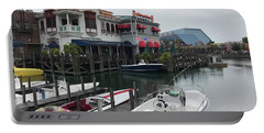 Boat Yard Portable Battery Charger by Michael Albright