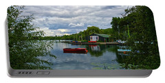 Boathouse Portable Battery Charger by Anne Kotan