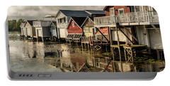 Boathouse Reflections Portable Battery Charger