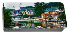 Boathouse Row In Philly Portable Battery Charger