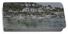 Portable Battery Charger featuring the photograph Boats At Looe by Brian Roscorla