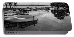 Boats At Wayzata Portable Battery Charger by Susan Stone