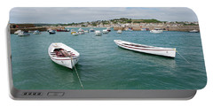Boats In Habour Portable Battery Charger