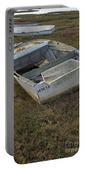 Boats In Ria Formosa Portable Battery Charger by Angelo DeVal