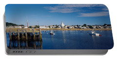 Boats In The Sea, Provincetown, Cape Portable Battery Charger