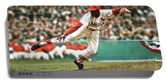 Bob Gibson, 1964 Game 7 Series Mvp Portable Battery Charger