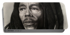 Bob Marley Drawing Portable Battery Charger