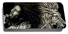 Bob Marley - Lion Heart Portable Battery Charger