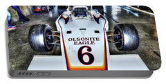 Bobby Unser's 1972 Indianapolis 500 Car. Portable Battery Charger