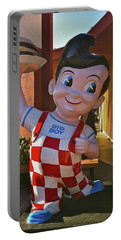 Bob's Big Boy Welcomes You Portable Battery Charger
