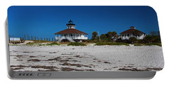 Portable Battery Charger featuring the photograph Boca Grande Lighthouse X by Michiale Schneider