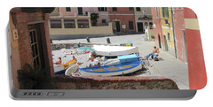 Boccadasse-  Genoa- Harbor Portable Battery Charger
