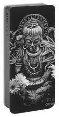 Bodhisattva Parametric Portable Battery Charger by Sharon Mau