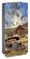 Bodie Ghost Town Portable Battery Charger by Benanne Stiens