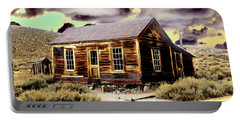 Portable Battery Charger featuring the photograph Bodie House by Jim and Emily Bush