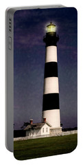 Portable Battery Charger featuring the photograph Bodie Island Light Station by Penny Lisowski