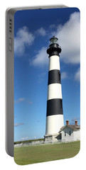 Bodie Island Lighthouse Cape Hatteras Portable Battery Charger by Dorothy Maier
