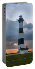 Bodie Island Lighthouse Sunset Portable Battery Charger