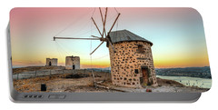 Bodrum And Old Windmills - Turkey Portable Battery Charger