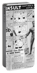 Body-building Ad, 1962 Portable Battery Charger