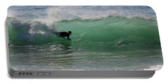 Body Surfer Portable Battery Charger by Jim Gillen