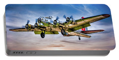 Portable Battery Charger featuring the photograph Boeing B17g Flying Fortress Yankee Lady by Chris Lord