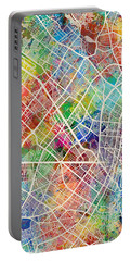 Bogota Colombia City Map Portable Battery Charger