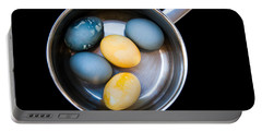 Portable Battery Charger featuring the photograph Boiled Eggs by Ari Salmela