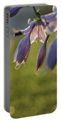 Bokeh Flowers Portable Battery Charger