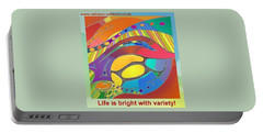 Bold Organic - Life Is Bright With Variety Portable Battery Charger