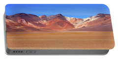 Portable Battery Charger featuring the photograph Bolivian Altiplano  by Aidan Moran