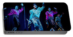 Bolivian Dancers, La Paz, Bolivia Portable Battery Charger