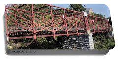 Bollman Truss Bridge At Savage In Maryland Portable Battery Charger