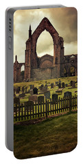Bolton Abbey At Sunset Portable Battery Charger by Jaroslaw Blaminsky