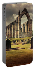 Bolton Abbey In The Uk Portable Battery Charger by Jaroslaw Blaminsky