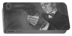 Bond Portrait Number 3 Portable Battery Charger
