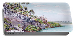 Bonefish Creek Watercolour Study Portable Battery Charger